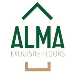 Alma parchet lemn, logo