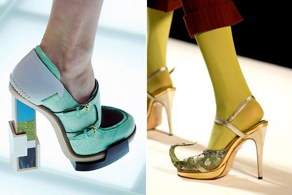 Cei mai ciudati pantofi creati vreodata
