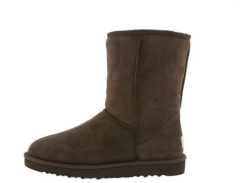 UGG Australia Mens Classic Short Chocolate_4