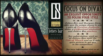 Concurs Focus on Divas. Castiga pantofi Christian Louboutin!