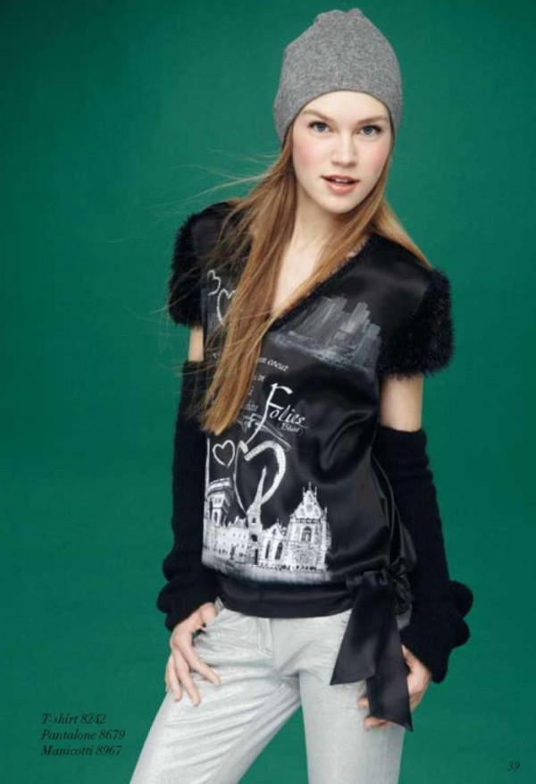 Tendinte in moda de iarna adolescente. Imagini din catalog Blugirl