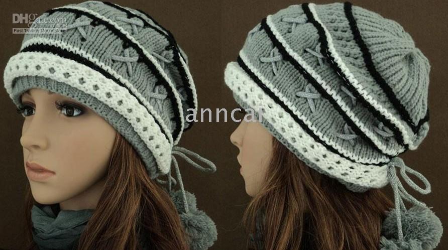 Caciuli tricotate, in stil Pacala