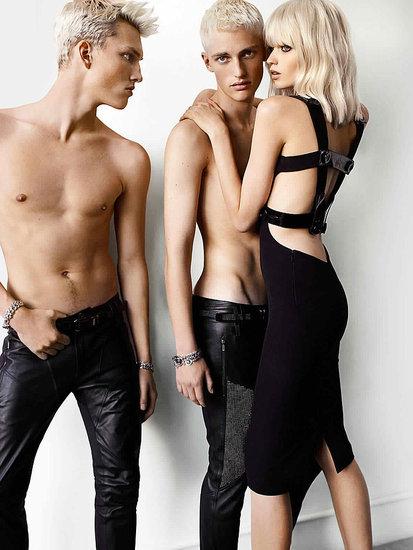 Rochia crestata, vedeta campaniei publicitare Versace