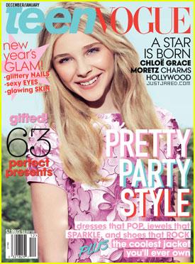 Chloe Moretz, pe cea mai noua coperta Teen Vogue