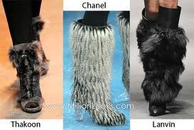 Fa-ti drumul prin iarna cu cizme de blana