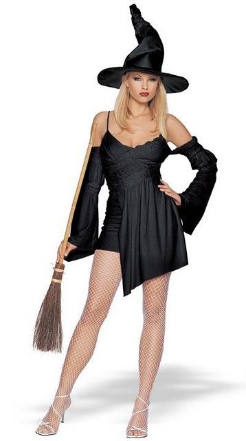 Cea mai sexy vrajitoare de Halloween