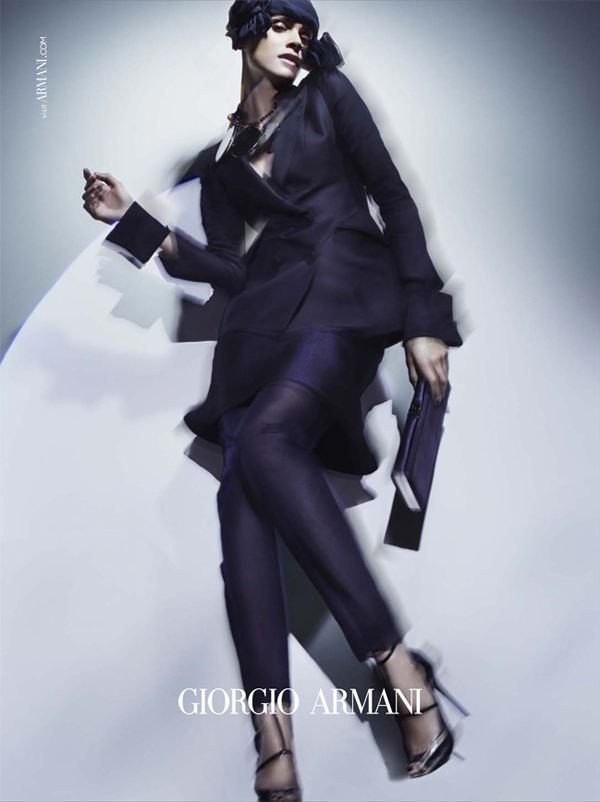 Costum deux-pieces by Giorgio Armani