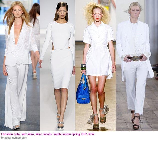 Vara all white. Costume deux-pieces pentru femei