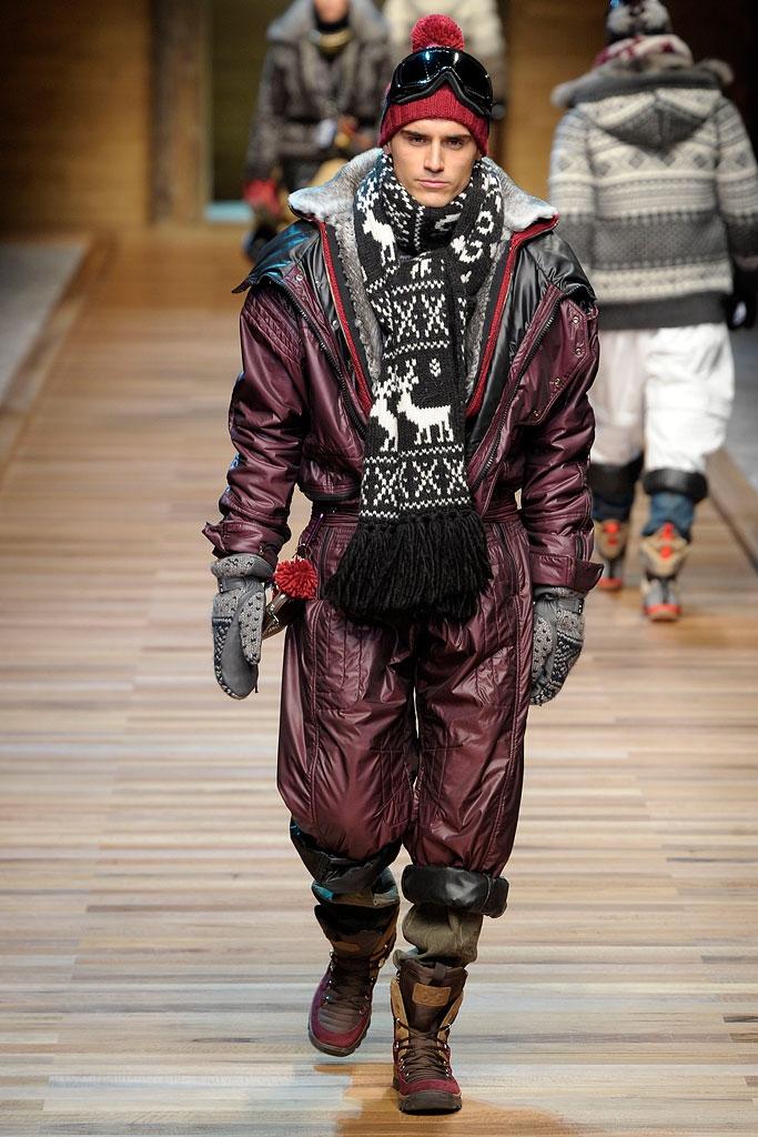Cele mai calduroase haine pentru barbati, inventate de D&G
