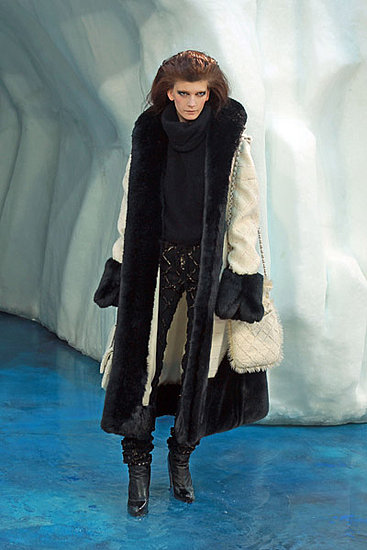 Chanel a adus Ice Age pe runway