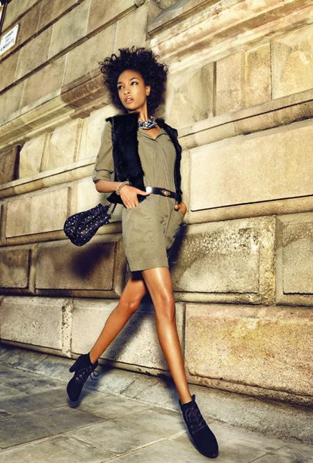 Tendinte de iarna in moda pentru adolescente via catalog Mango