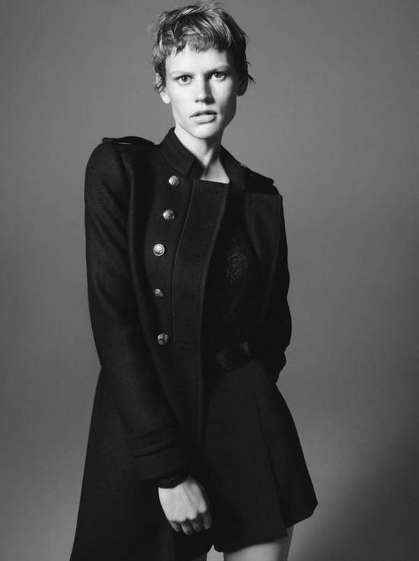 Paltoane Zara din catalogul de toamna-iarna 2011