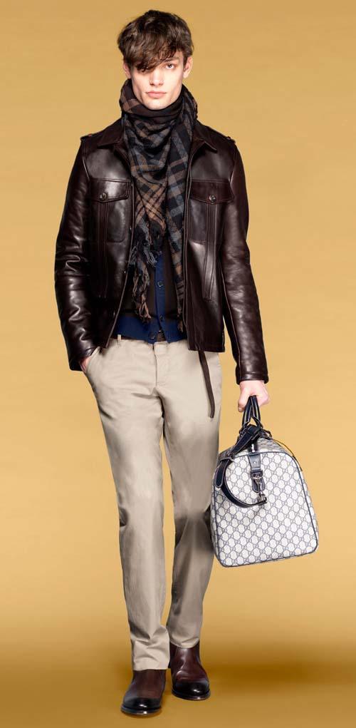 Pantaloni barbati 2011, din colectia Gucci
