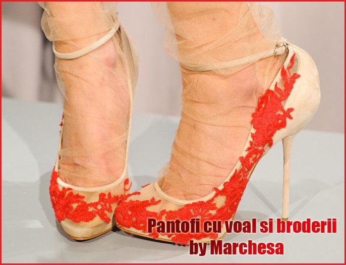 Pantofii senzationali de pe runway vin de la Marchesa