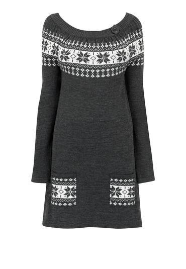 Tricotaje-n peisaje de toamna-iarna