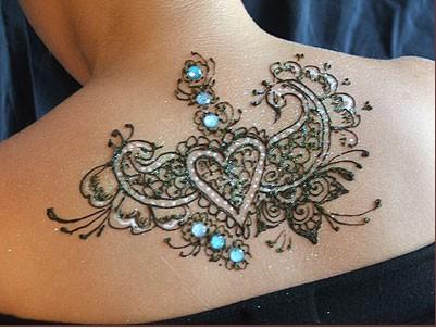 Tatuaje cu pietre semipretioase- cea mai noua tendinta in body art