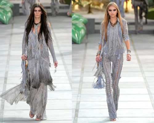 Moda 2011 primavara-vara. Franjuri, rock'n roll, accesorii hippie