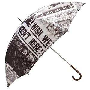 Citeste ziarul chiar de pe umbrela ta!