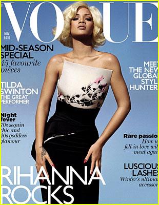 Rihanna, schimbare radicala de look. Pe coperta Vogue