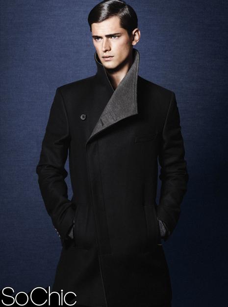 Geci si paltoane de iarna de la Zara. Numai pentru barbati